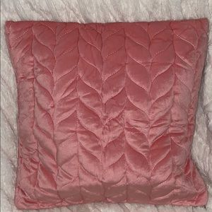 Other - Quilted velvet throw pillow cover